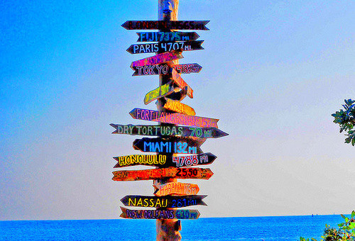 travelling-sign