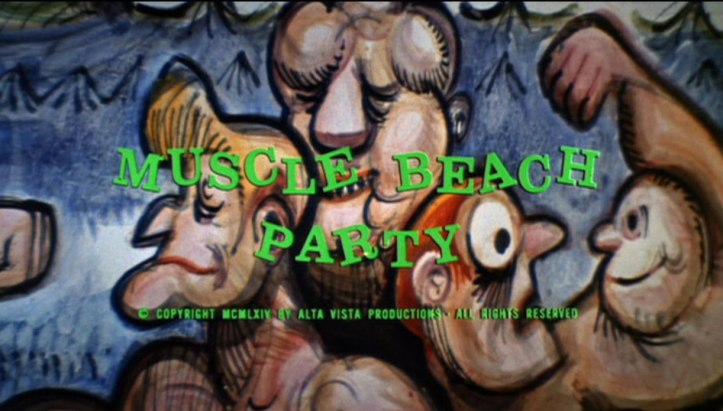 Muscle Beach Party frame grabs (5)