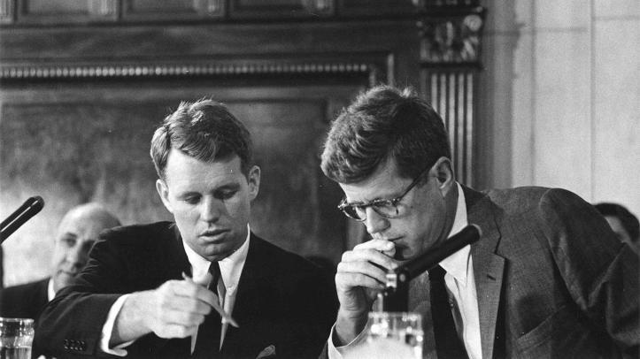RFK and JFK